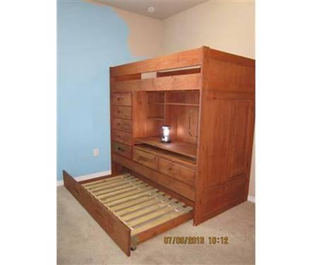 Solid Pine Honey Colored Discovery Furniture Twin Trundle