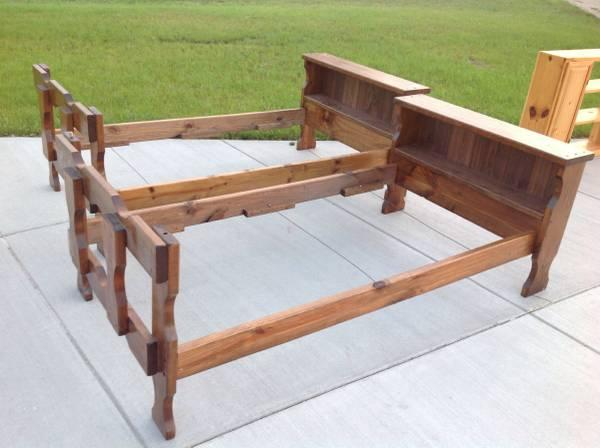 Solid Pine Twin Bed Frame For Sale In Milton Wisconsin Classified