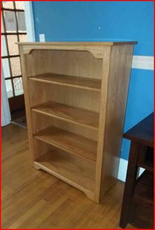 Solid Wood Bookcases In Stock - 36 Wide X 6 Tall Made by the Amish - $398