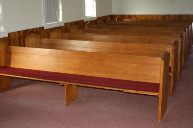 Solid Wood Church Pews For Sale For Sale In Honey Grove Texas Classified