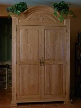 Solid Wood Computer Armoire For Sale In Wallkill New York