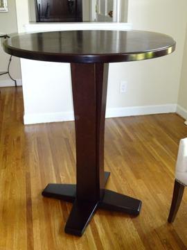 Bon Solid Wood Crate U0026 Barrel Bistro Table