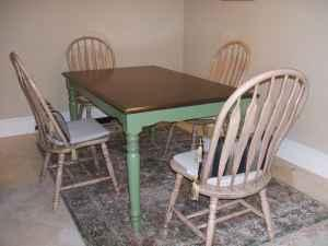 Solid Wood Dining Table 3x5 Amp 4 Solid Wood Chairs St