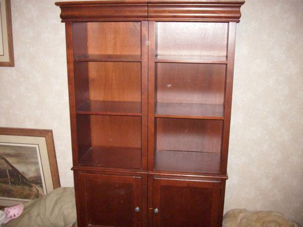 Solid Wood Display Cabinet Brandon Rez For Sale In