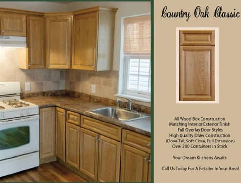 Solid Wood Fully Assembled Kitchen Cabinets No One Can