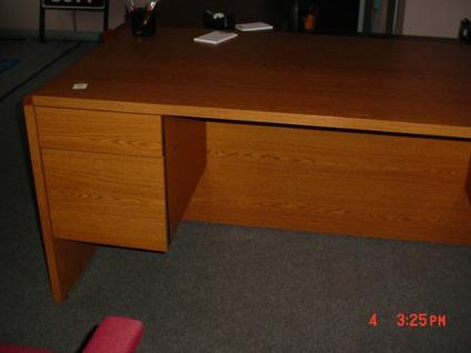 Solid Wood Hon Oak Desk