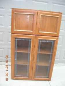 solid wood kitchen cabinet pantry sunbury for sale in