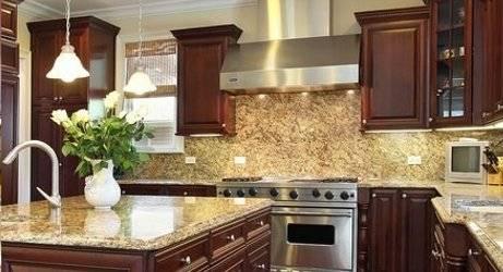 Solid Wood Kitchen Cabinets-Oak, Cherry, Cinnamon, White ...