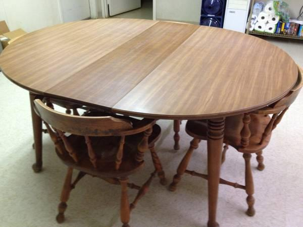 solid wood kitchen table chairs for sale in texarkana texas