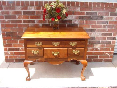 Solid wood top of Dresser