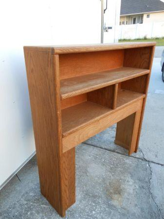 Solid Wood Twin Size Headboard With Shelves Saint Cloud