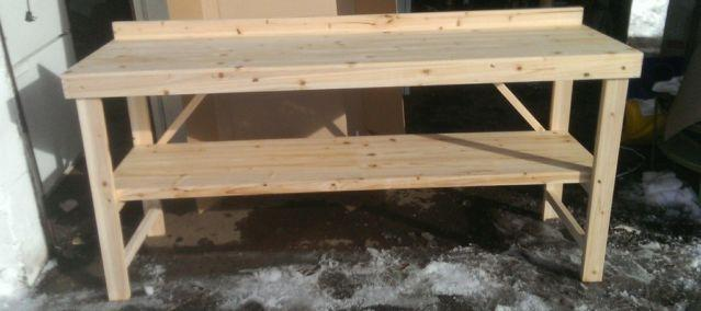 Solid Wood Workbench / Craft Table 72