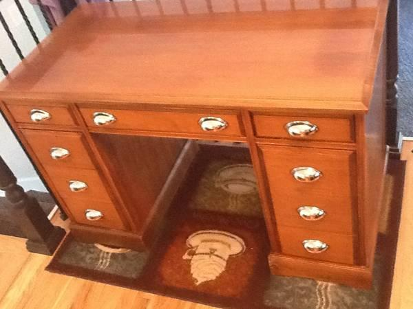 solid wood writing desk for sale