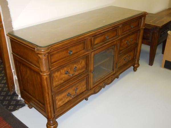 Solid Wood Mahogany Tv Stand 60 40 Furniture Consignment Pensacola For Sale In Pensacola