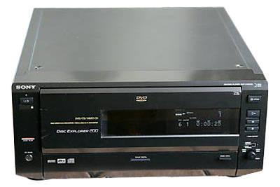 Sony 200 Disc DVD-CD Player