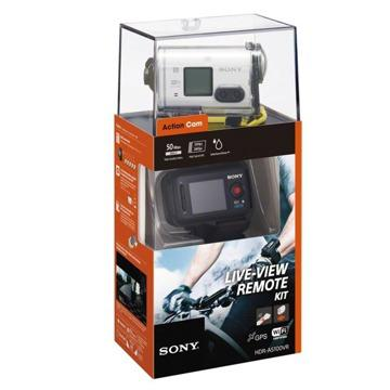 Sony Action Cam with Live View Remote