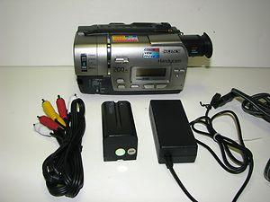 Sony CCD-TR517 Hi8 8mm Camcorder - Transfer Hi8 or 8mm to DVDPCLaptop