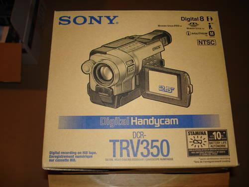 Sony dcr trv350 usb