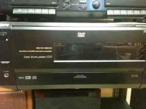 Sony Disc Explorer 200 Cd DVD Changer