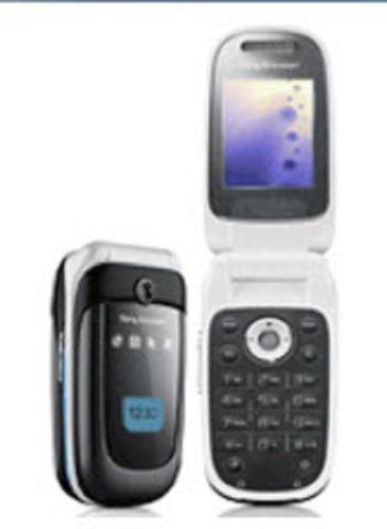 Sony Erection Flip phone white (Refer)