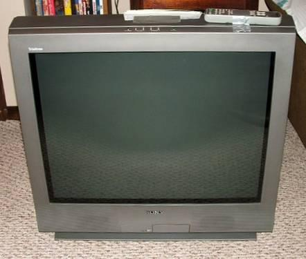 sony kv 32fs13 32 flat screen wega tv for sale in piscataway new rh piscataway americanlisted com Sony Trinitron Curved Sony Google TV Owners Manual