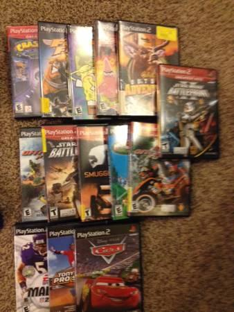 Sony Playstation 2 with 14 games - $40