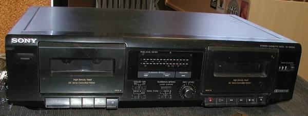 Sony TC-WE305 Stereo Dual Cassette Deck - $59