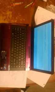 Sony Vaio Purple Core I3 640 GB HDD - $550 (Kokomo)