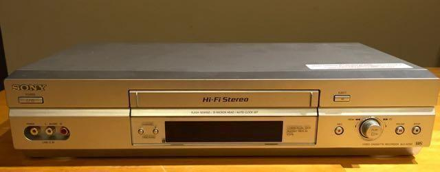 Sony Video Cassette Recorder VCR
