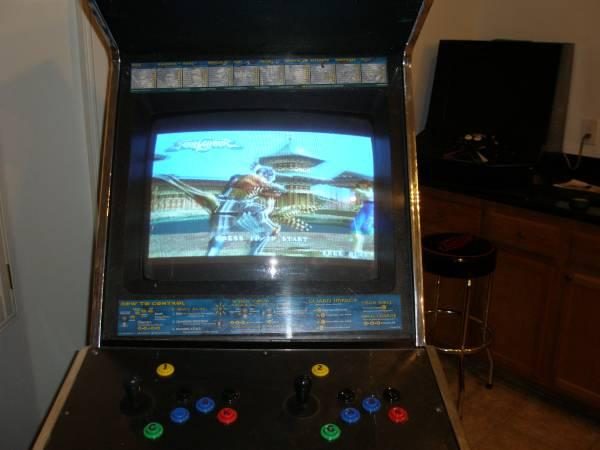 Soul Calibur 2 arcade cabinet - for Sale in College Park, Nevada ...