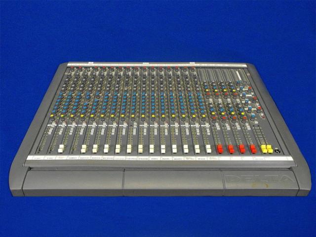 Soundcraft Delta 200 16x4x2 Analog Audio Board Mixer For