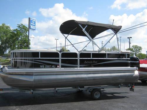 South bay pontoon fishing boat