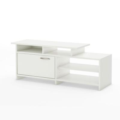 South Shore Furniture Majestic Pure White Tv Stand For Sale In