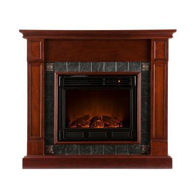 Southern Enterprises Lungarno 45 in. Electric Fireplace