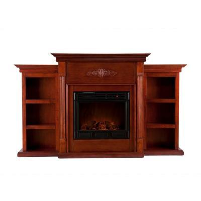 Southern Enterprises Tennyson 70 in. Electric Fireplace