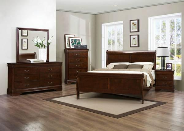 special sale 4pcs queen bedroom set at cash price at for sale in