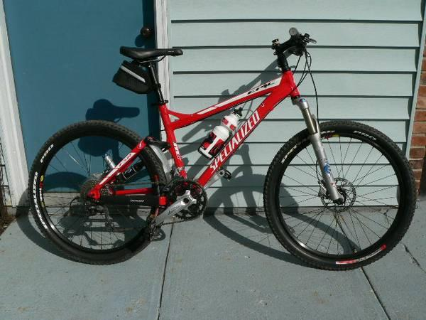 Specialized Epic Comp Mountain Bike Medium Frame Red For Sale