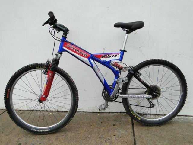 Specialized FSR Full Suspension Mountain Bike Bicycle for Sale in ...