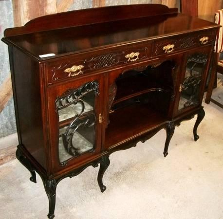 Spectacular Mahogany Buffet from Scotland - $585
