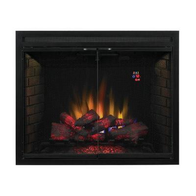 SpectraFire Builder's 39 in. Vent-Free Electric Fireplace ...