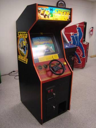 Speed Buggy Upright Driving Arcade Game - great for