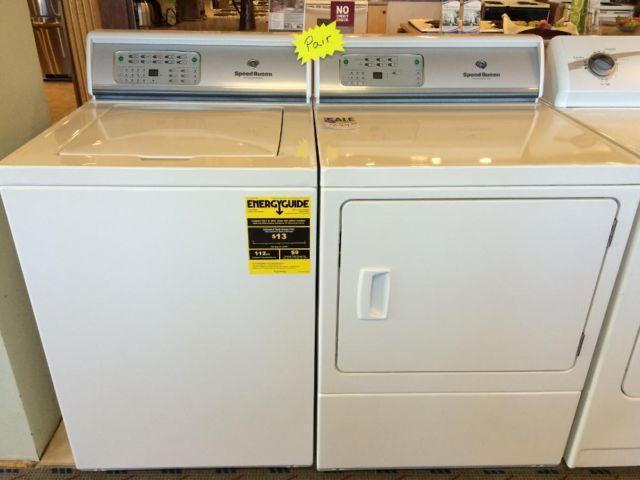 wash machine and dryer set