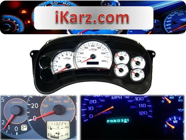 Speedometer Repair and Sales -- Instrument Cluster, Tablero for Sale