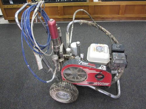 Speeflo Powrtwin 8900xlt Gas Powered Paint Sprayer For
