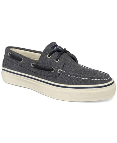 Sperry Top-Sider Bahama 2-Eye Wool Boat Shoes