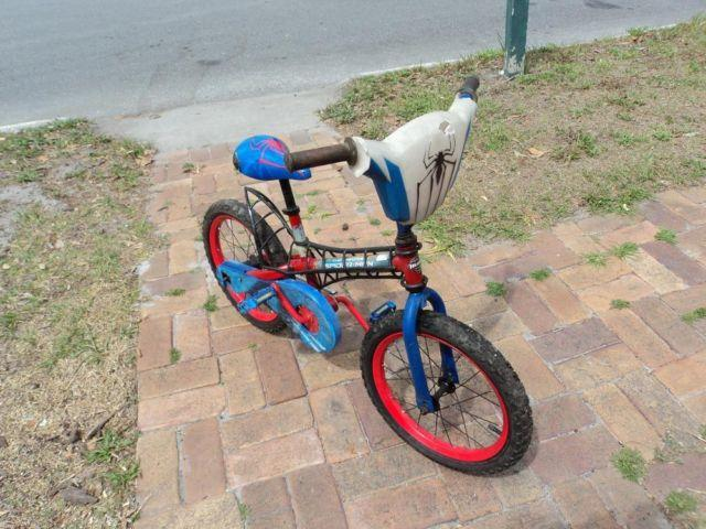 Spiderman Bike - 16