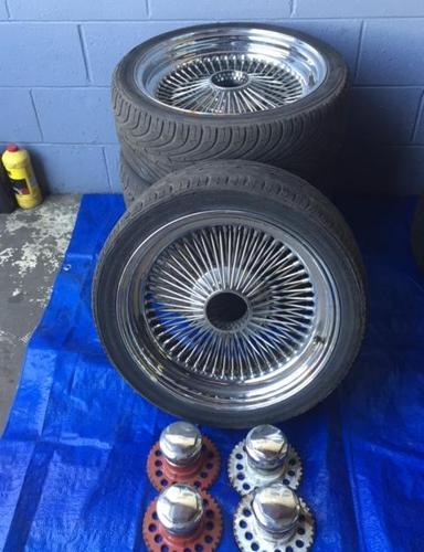 Spoke wire wheels