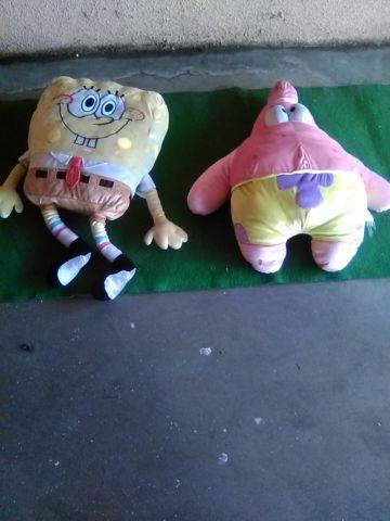 Spongebob and Patrick Plush Toys