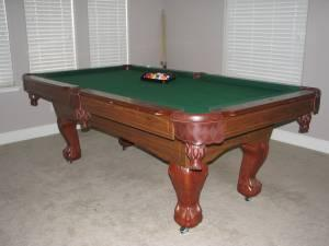 Sportcraft Pool Table Photos - Sportcraft monument billiard table