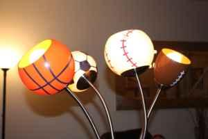 Sportsball Floor Lamp - $20 (Parker/ Cherry Creek)